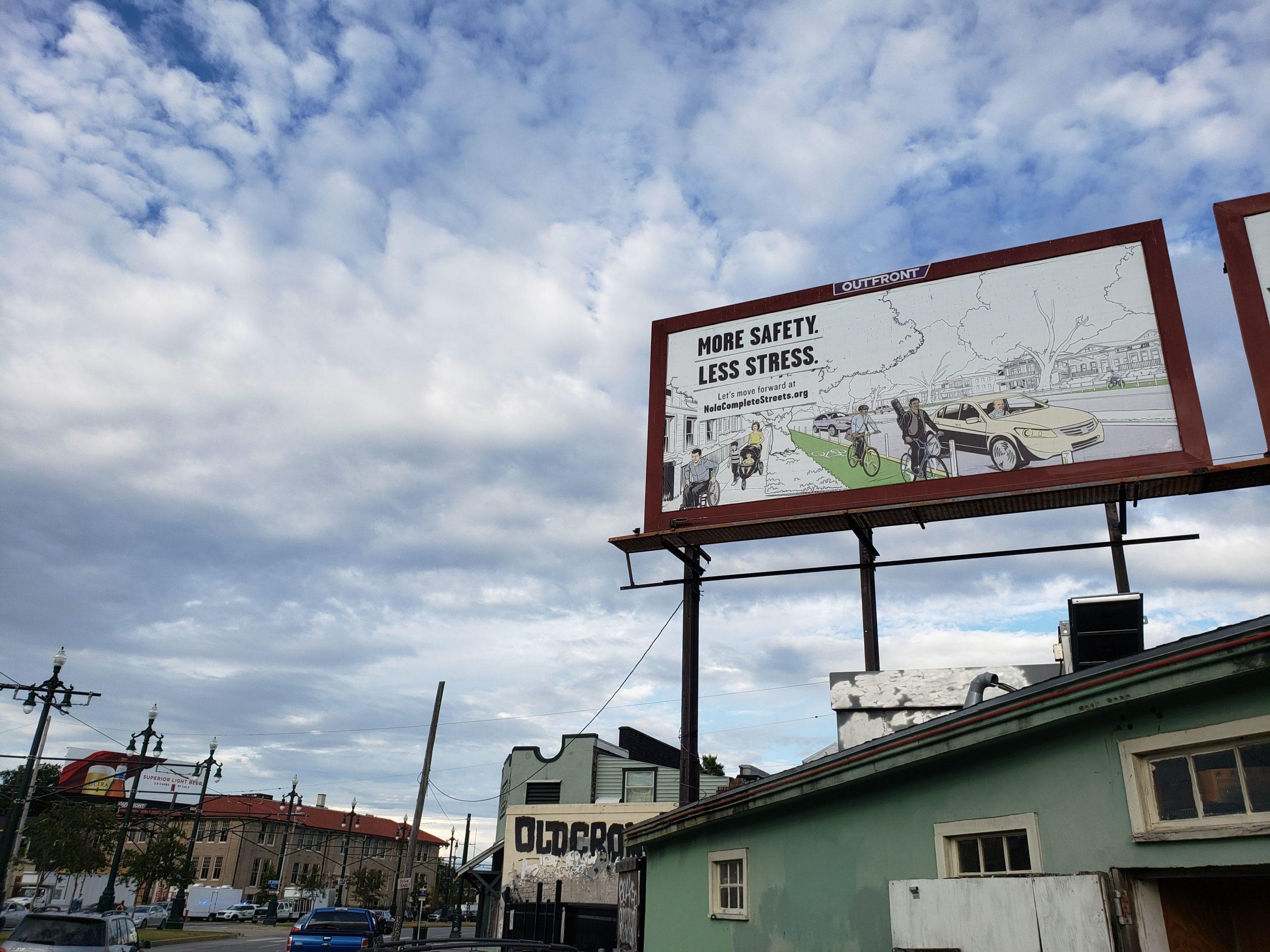 Complete Streets Billboard