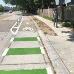 New Bike Lanes on Garden Oaks Drive