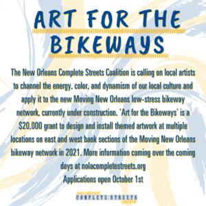 $20,000 public art grant from NOCSC